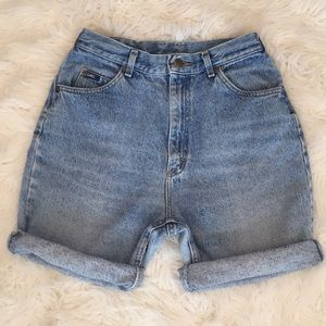 Vintage Lee Riders High Waist Jean Shorts